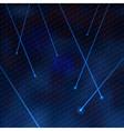 laser blue vector image