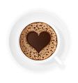 coffee crema 02 vector image