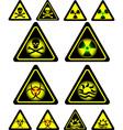 signs of danger vector image