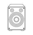single speaker icon image vector image