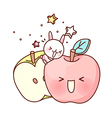 A pair of apple vector image vector image