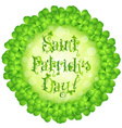 Patricks Day Card vector image