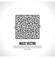 Abstract maze logo Logo icon concept vector image
