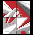 brochures templates vector image