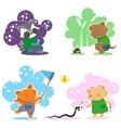 Furry Children vector image
