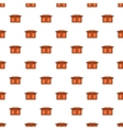 Table for living room pattern cartoon style vector image