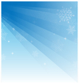 Abstract light blue christmas background with vector image