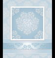 Set seamless patterns lace vector image