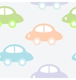 Background with cars vector image vector image