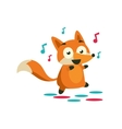 Fox On The Dancefloor vector image