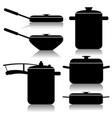kitchen utensils-set vector image