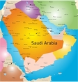 Saudi Arabia country vector image