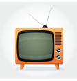 TV retro vector image