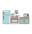 kitchen home appliances vector image