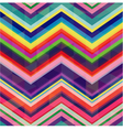 colorful seamless zig zag pattern vector image