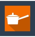 handle pot vector image vector image