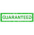 office stamp guaranteed vector image vector image