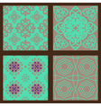 Set-3-seamless-colorful-patterns-oriental-ornament vector image