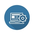 Product Integration Icon Flat Design vector image