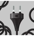 Power plug vector image