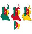 Gorilla Cameroon vector image