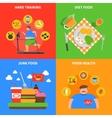 Obesity 2x2 Design Concept vector image