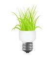 power saving lamp vector image