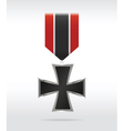 medal cross vector image vector image