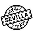 Sevilla rubber stamp vector image