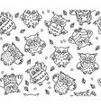 owl seamless vector image