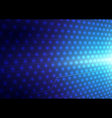 Abstract blue lights and lines background vector image
