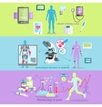 Medical Technology and Pharmacology Research vector image