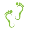 step icon vector image
