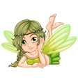 Gree fairy vector image