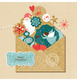 Set of Christmas and new year element vector image