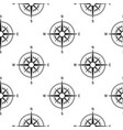 seamless pattern compasses vintage vector image