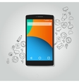 smart phone function icon concept vector image