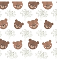 brown bear animal vector image