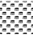 Drum pattern seamless vector image