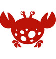 crab image vector image