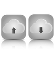 Icons Cloud Service vector image