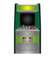 vintage arcade vector image
