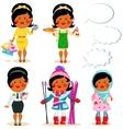 Cartoon people - set vector image