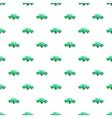 Pickup pattern cartoon style vector image