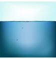 still water background vector image