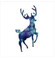Tiangle deer vector image