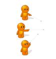 Orange Man vector image