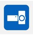 digital video camera vector image