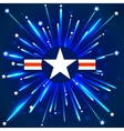 Abstract American stars background EPS 10 vector image