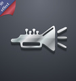 trumpet brass instrument icon symbol 3D style vector image